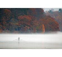 Early Morning Row Photographic Print