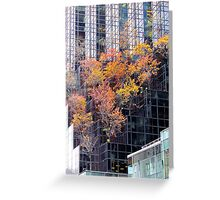 Autumn Tower, New York City  Greeting Card