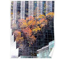 Autumn Tower, New York City  Poster