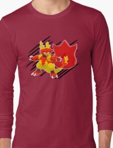 Volcano Badge Magmar Long Sleeve T-Shirt