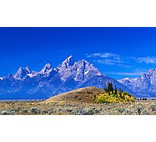 Majestic Teton Photographic Print