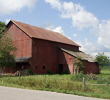 Northern Indiana Farm Country by Marvin Mast