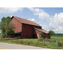 Northern Indiana Farm Country Photographic Print