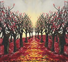 Redrum in the Trees by T Powers