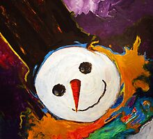 Whimsy Snowman by Denice Taylor Rinks