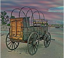 Chuck Wagon Photographic Print