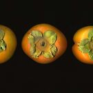Fuyu Persimmons by Barbara Wyeth