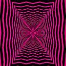 Crinkled Radial PINK by Vanessa Lauder