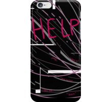 Help Us/Me iPhone Case/Skin