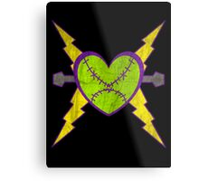 Monster Size Love Metal Print