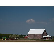 John Deere Farm Photographic Print