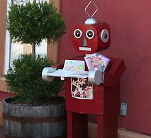 Robot Butler - Stoudtburg Village, PA by searchlight