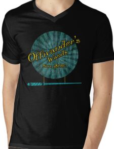 Ollivanders Wands Mens V-Neck T-Shirt