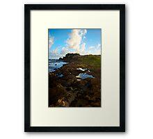 Tide Pools Kauai, HI Framed Print