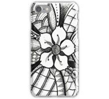 Abstract-CherryBlossom-Tangle iPhone Case/Skin