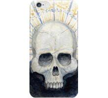 Goth Radiant Skull iPhone Case/Skin