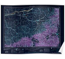 USGS Topo Map Oregon OR Pendleton 283344 1953 250000 Inverted Poster