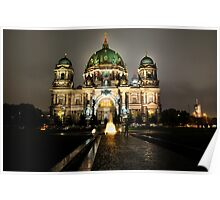 Historic Berliner Dome in Berlin Germany Poster