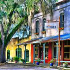 Downtown Micanopy,FL by Karen Peron