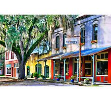 Downtown Micanopy,FL Photographic Print