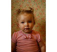 Flower Girl - 15 Months Photographic Print