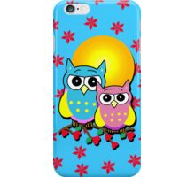 Two Cute Owls on an iPhone Case iPhone Case/Skin