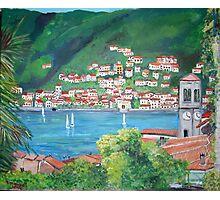 Torno, Lake Como, Italy Photographic Print