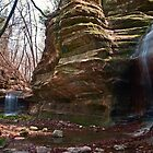 Seeing Double - Matthiessen State Park, IL by Mark Heller