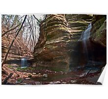 Seeing Double - Matthiessen State Park, IL Poster