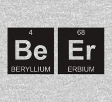 Be Er - Beer - Periodic Table - Chemistry by Jenny Zhang