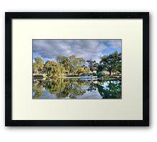 Winery Pond Framed Print