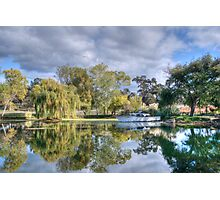 Winery Pond Photographic Print
