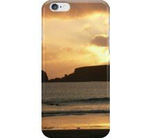 St Ninian's Isle Sunset iPhone Case/Skin