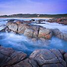 River Mouth Rocks by Jill Fisher