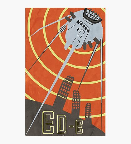 Vintage Poster ED-E Photographic Print