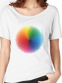 Colour Spectrum Women's Relaxed Fit T-Shirt