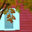 autumn window by ANNABEL   S. ALENTON