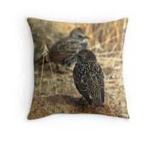 Foragers Throw Pillow