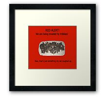 More Tribbles Framed Print