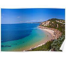 Beach Landscape,Victoria,Australia. Poster