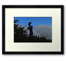 Adam - The Eden Project Framed Print