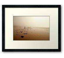 Beachcombing Framed Print