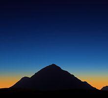Dusk over Glencoe, Scotland by David Alexander Elder