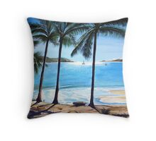 Long Island, Australia Throw Pillow