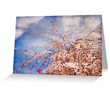 Tickling the Clouds Greeting Card