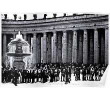 St. Peter's Square Poster
