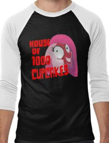 House of 1000 Cupcakes Men's Baseball ¾ T-Shirt