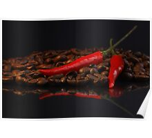 Chilli and Coffee Poster