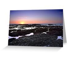 Moss Beach Tide Pools Greeting Card