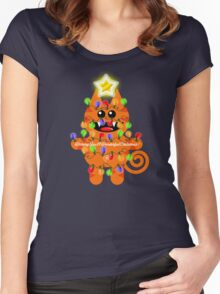 CHRISTMASKAT Women's Fitted Scoop T-Shirt